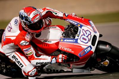 Dovizioso dominiert weiter für Ducati in Katar