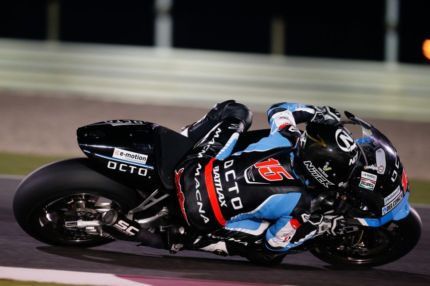 Alex De Angelis, Octo IodaRacing Team, MotoGP Qatar Test
