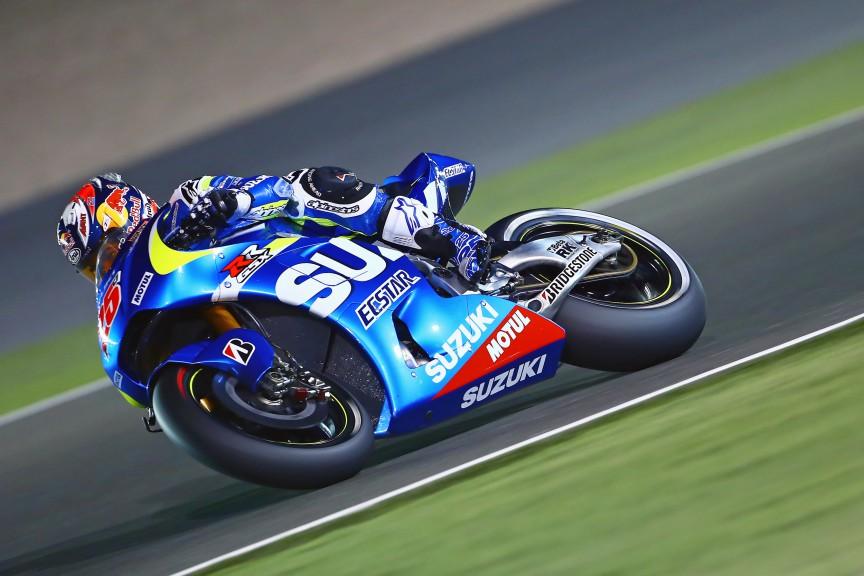 Maverick Viñales, Team Suzuki MotoGP, Qatar Test