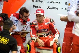 Andrea Iannone, Ducati Team, MotoGP Qatar Test