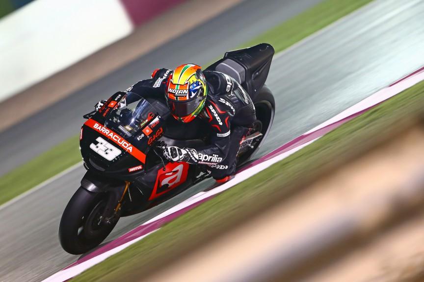 Marco Melandri, Aprilia Racing Team Gresini, MotoGP Qatar Test