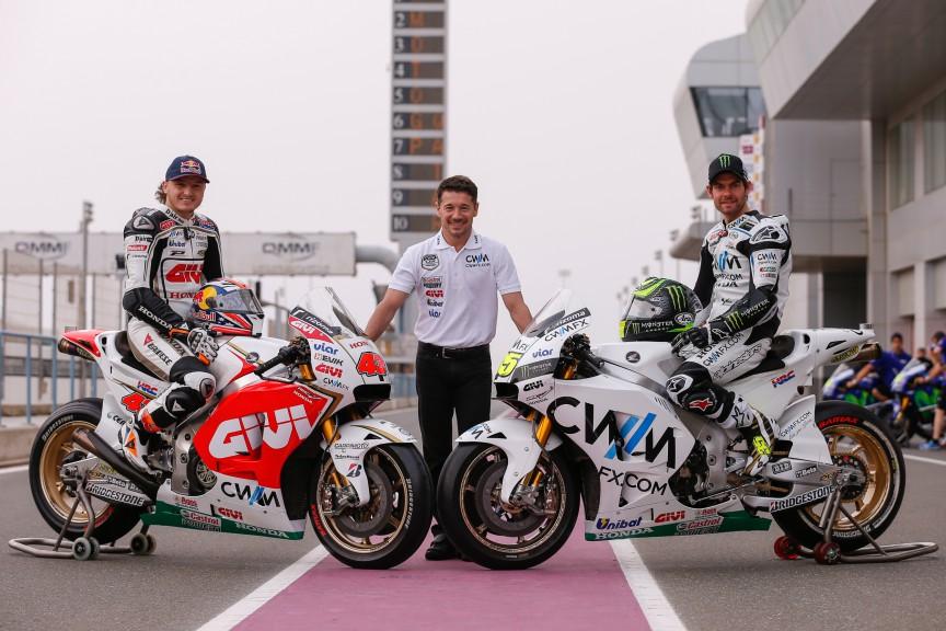 CWM LR Honda, MotoGP Qatar Test