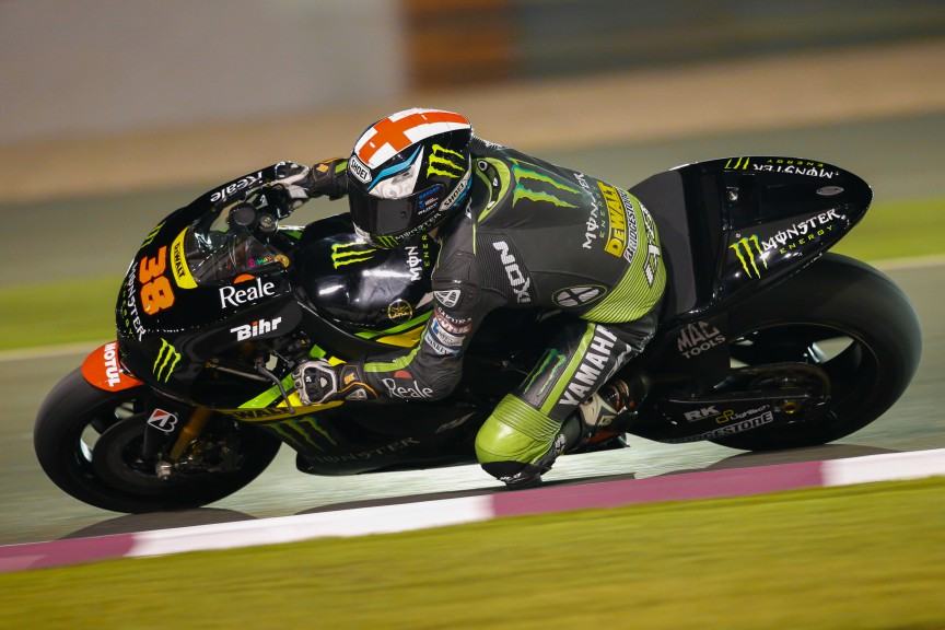 Bradley Smith, Monster Yamaha Tech 3, MotoGP Qatar Test