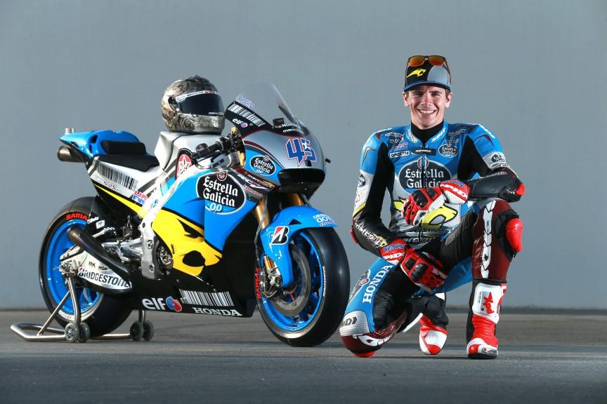 Scott Redding, Estrella Galicia 0,0 Marc VDS, MotoGP Qatar Test