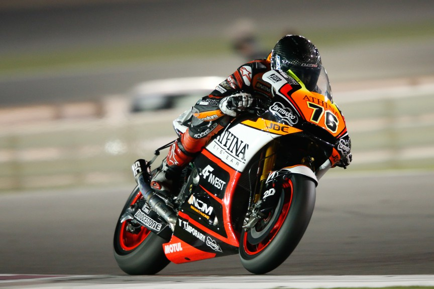 Loris Baz, Athinà Forward Racing, MotoGP Qatar Test