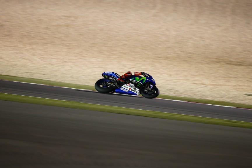 Jorge Lorenzo, Movistar Yamaha MotoGP, MotoGP Qatar Test