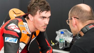 Première simulation de course en MotoGP™ pour Loris Baz