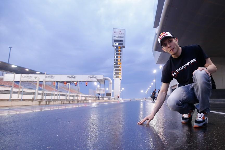 Stefan Bradl, Forward Racing, MotoGP Qatar Test