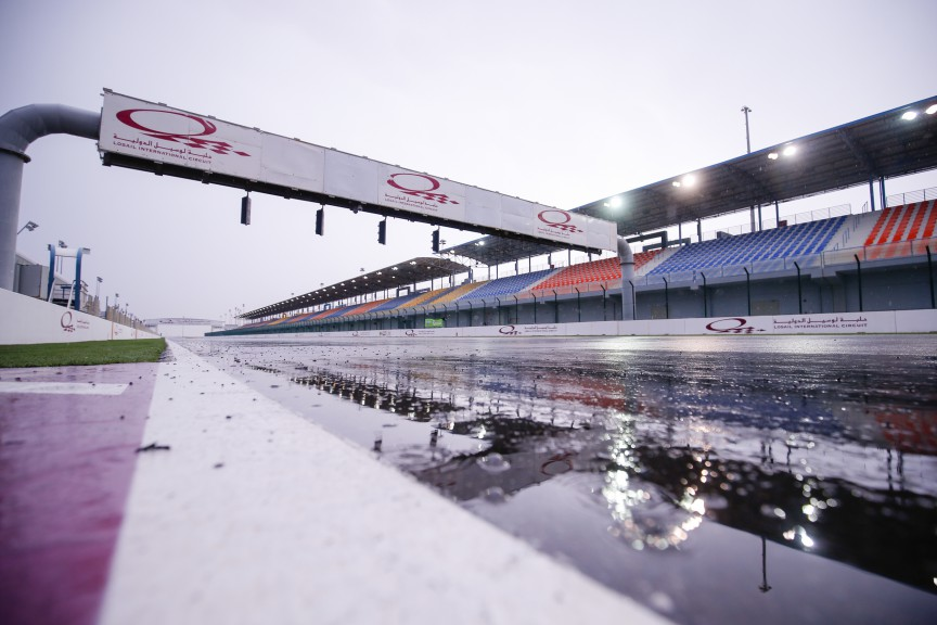 Rainy Day in Qatar Test