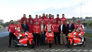 Presentación equipo Mapfre Mahindra Aspar de Moto3™