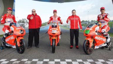 Presentación del equipo Mapfre Team Mahindra de Moto3™