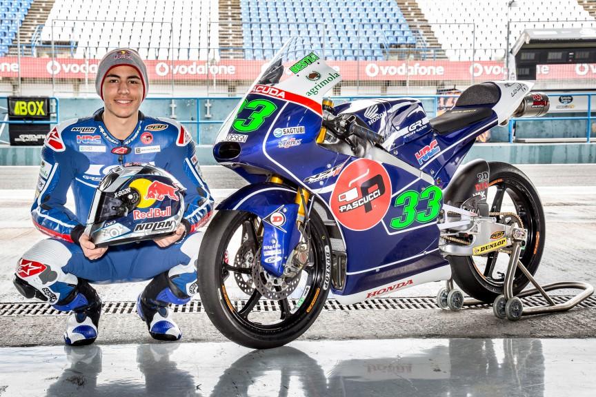 Gresini Racing Team Moto3 Presentation