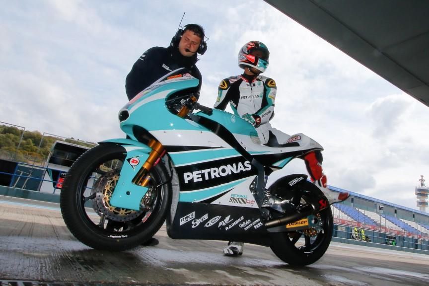 Hafizh Syahrin, Petronas Raceline Malaysia, Jerez Test