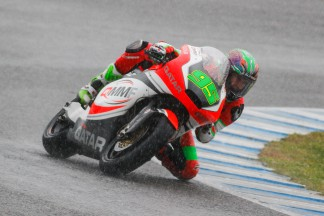 Anthony West, QMMF Racing Team, Jerez Test