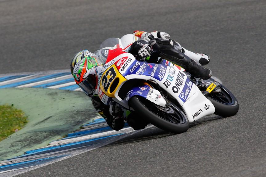 Niccolò Antonelli, Ongetta-rivacold, Jerez Test
