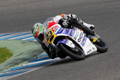 Antonelli sets early Moto3™ pace on day one in Jerez