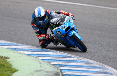 Jorge Navarro nach zwei Sessions beim Moto3™ Test in Jerez v