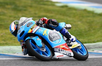 Day two of Jerez Moto3™ test ends with Navarro on top