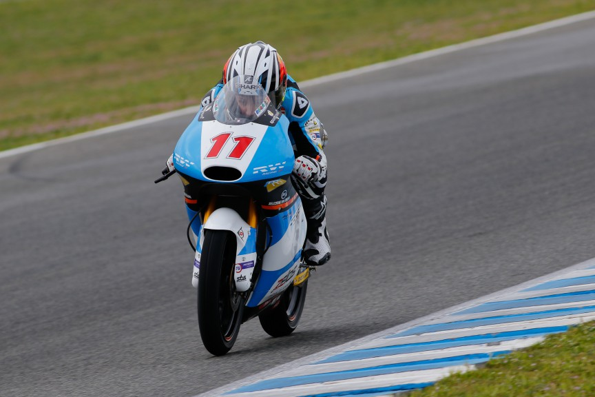 Livio Loi, RW Racing GP, Jerez Test