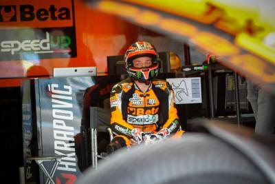 Lowes bei besserem Wetter in Jerez vorn