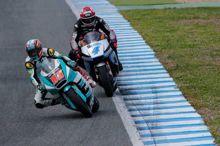 Syahrin Hafizh, Randy Krummenacher, Petronas Raceline Malaysia, JIR Moto2, Jerez Test