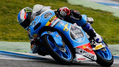 Moto3™ rookie Navarro fastest overall in Jerez