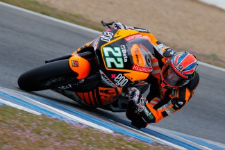 Lowes leaves rain-affected Jerez Moto2™ test on top