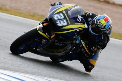 Schrotter, mejor tiempo de la mañana de Moto2™ en Jerez