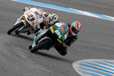 Moto3™'s Kornfeil ends morning on top on final day in Jerez