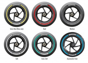 Bridgestone's new tyre markings for MotoGP™ in 2015 | MotoGP™