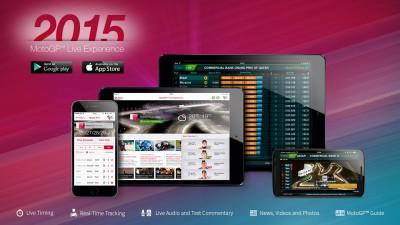 Segui la stagione 2015 con la MotoGP™ Live Experience App