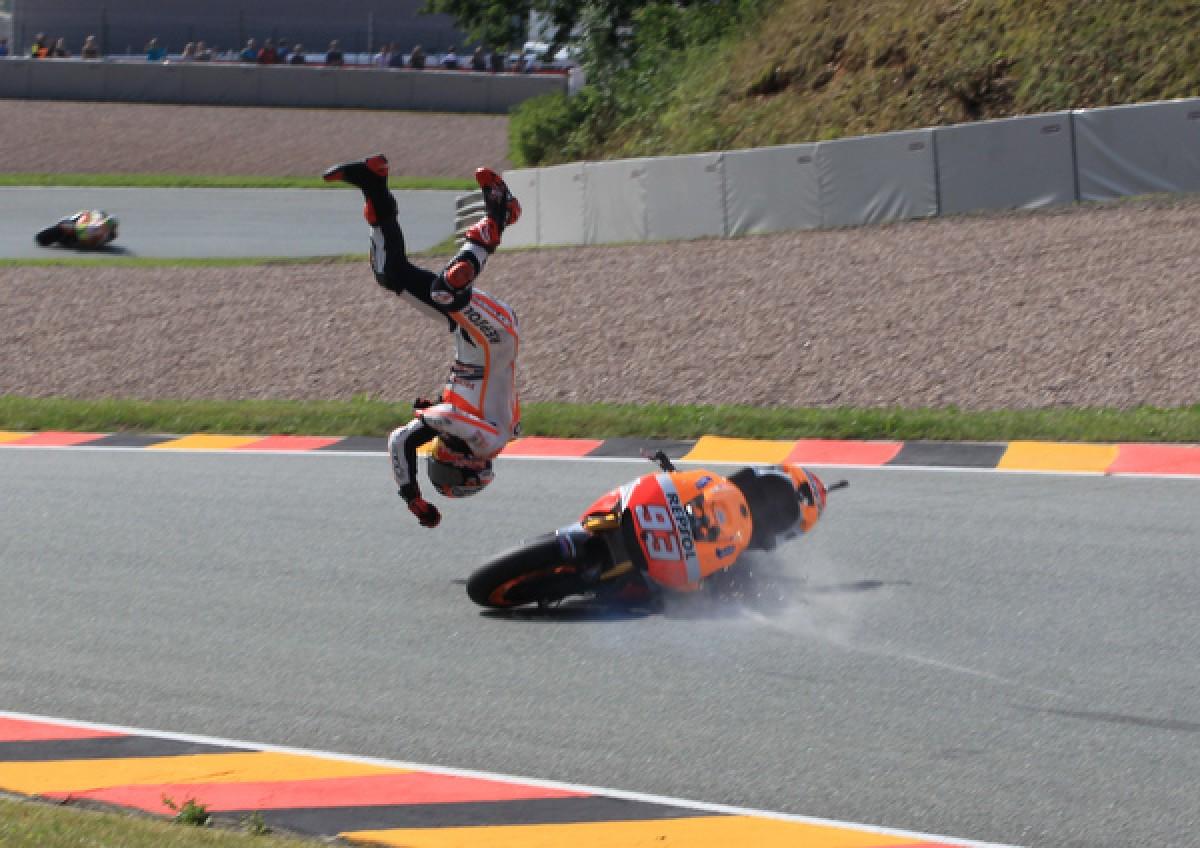 Die heftigsten Stürze der MotoGP™ 2014
