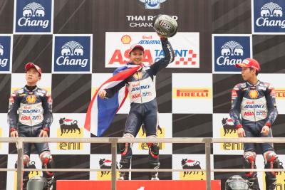 Chantra und Atiratphuvapat teilen sich die Siege in Thailand