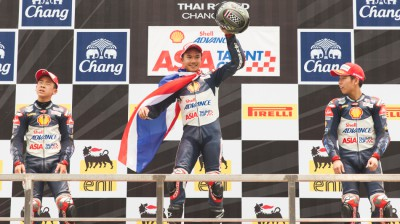 Atiratphuvapat takes second victory for Thailand