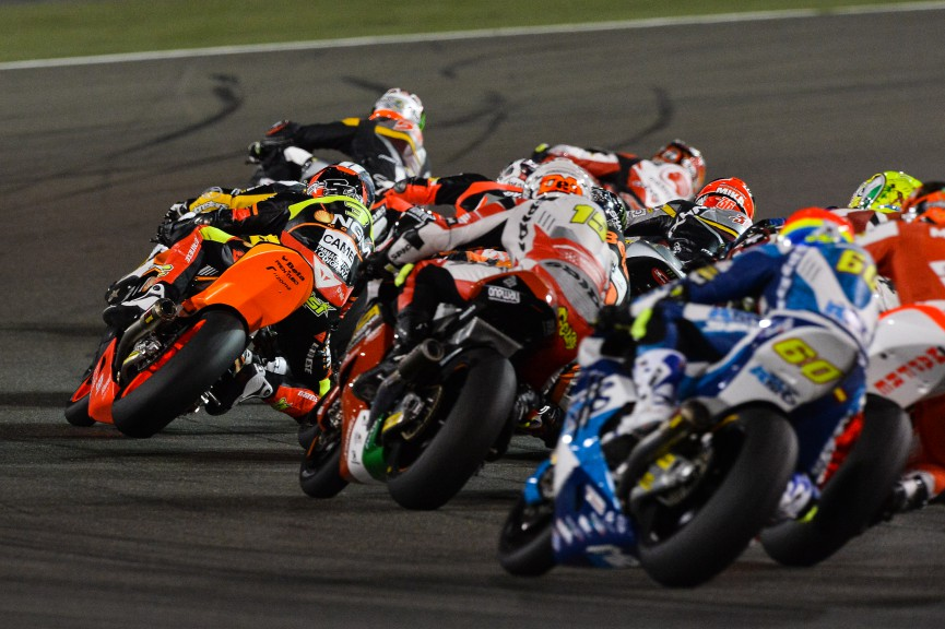 Moto2 Action, Qatar
