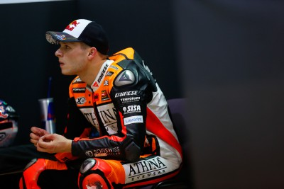"Bradl: ""I'm really happy to be back on track"""
