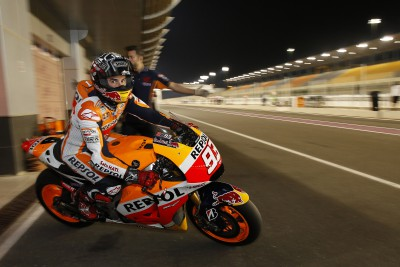 "Marquez: ""There are a lot of fast riders on fast bikes"""