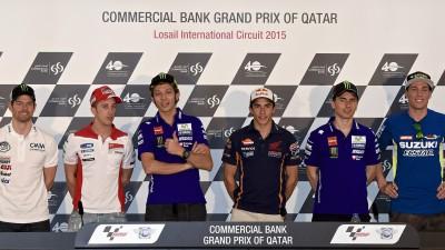La conférence de presse du GP Commercial Bank du Qatar