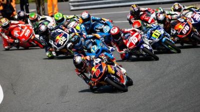 Competición Dunlop de adelantamientos en Moto2™ y Moto3™