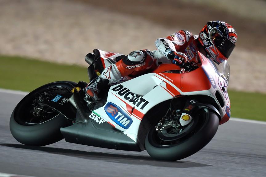 Andrea Dovizioso, Ducati Team, MotoGP Qatar FP1