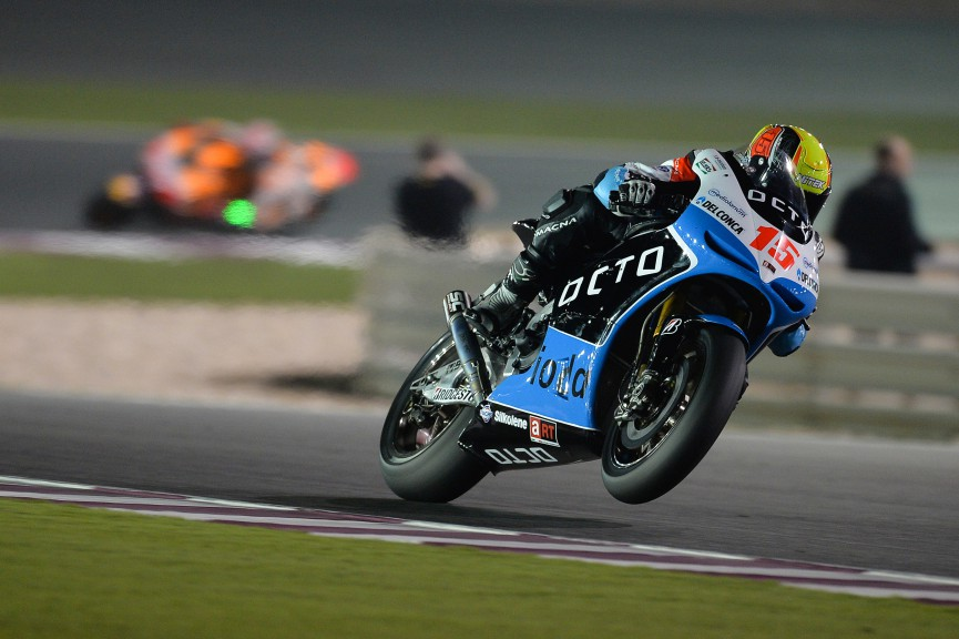 Alex De Angelis, Octo IodaRacing Team, Qatar FP1