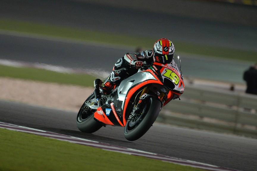 Alvaro Bautista, Aprilia Racing Team Gresini, Qatar FP1