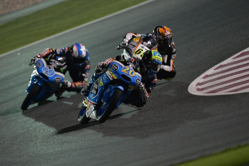 Moto3 Action, Qatar FP2