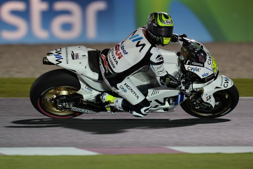 Cal Crutchlow, CWM LCR Honda, Qatar FP1
