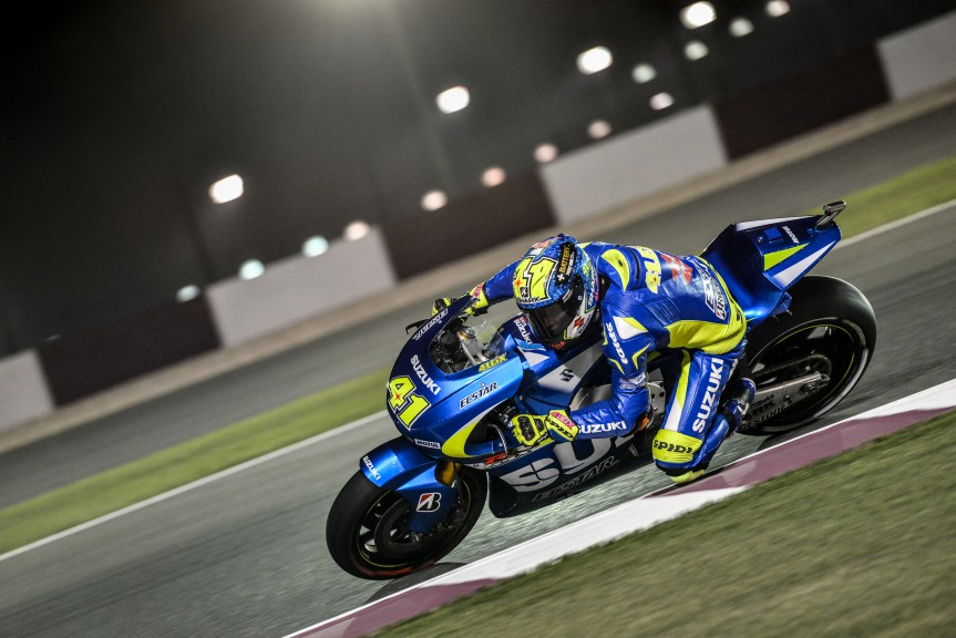 Aleix Espargaro, Team Suzuki MotoGP, MotoGP Qatar FP1