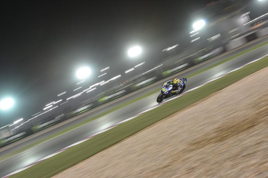 Valentino Rossi, Movistar Yamaha MotoGP, Qatar FP1