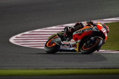 Márquez s'installe aux commandes au Qatar