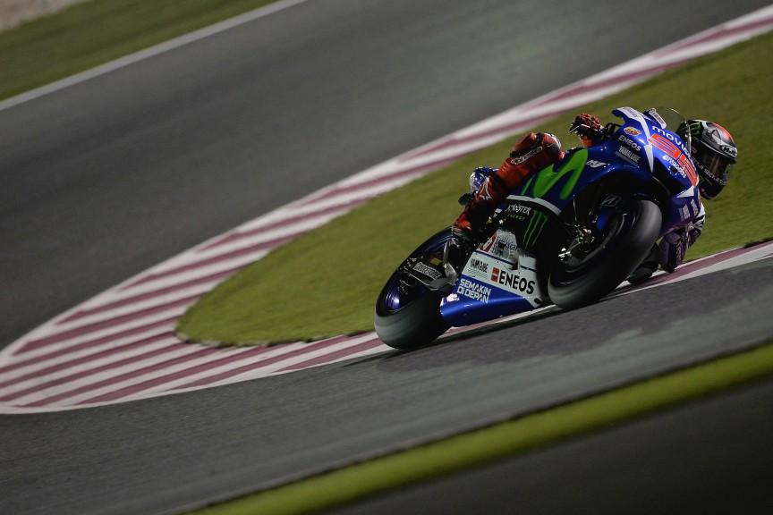 Jorge Lorenzo, Movistar Yamaha MotoGP, Qatar FP1