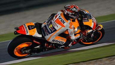 Resumen FP1 de MotoGP™ en Qatar