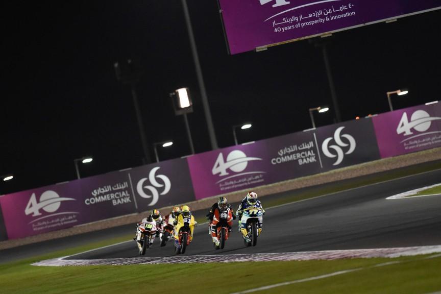 Moto2 Action, Qatar FP2